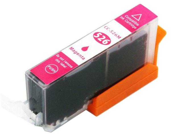 Zgodny tusz CLI526M Magenta zamiennik do Canon iP4820 iP4850 MG5120 MG5150 MG5200 MG5220 / Czarwony / 10 ml / DD-Print