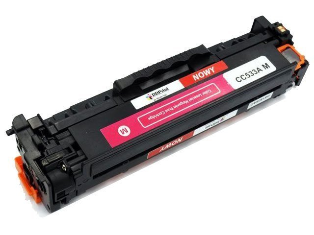 Zgodny z CC533A toner HP CP2025 CM2320 Magenta 2,8K DD-Print DD-H533AMN