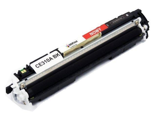Zgodny z CE310A toner czarny do HP LaserJet CP1025 CP1025nw M175a M175nw M275 1200 stron Nowy DD-Print CE310ADNBK