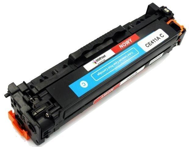 Zgodny z CE411A toner (Niebieski) do HP LaserJet M351 M375 M451 M475 / 2600 stron Nowy DD-Print CE411ADNC