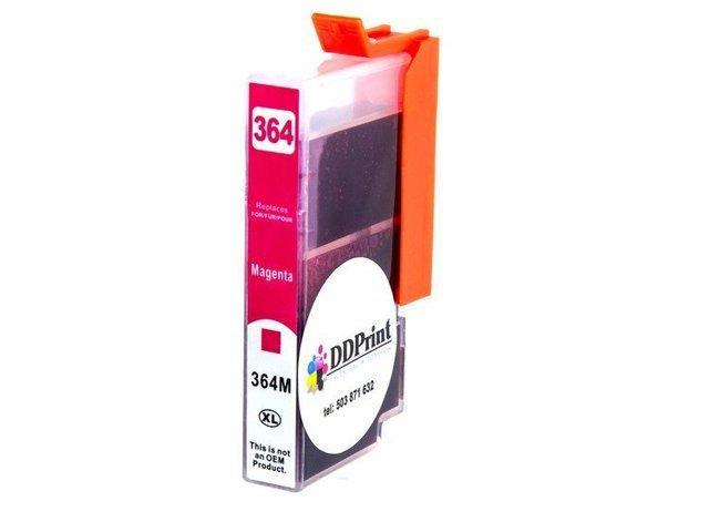 Zgodny z hp 364XL tusz do HP Photosmart 5524 5520 5510 5514 5515 6510 7510 czerwony DD-Print DD-IH364XLMN