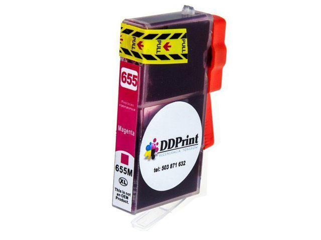Zgodny z hp 655XL tusz czerwony do HP Deskjet Ink 3525 4615 4625 5525 6525 DD-Print