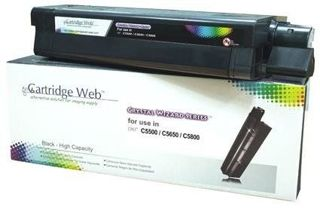 Toner Cartridge Web Black OKI C5650 zamiennik 43865708