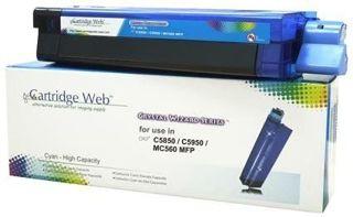 Toner Cartridge Web Cyan OKI C5850 zamiennik 43865723