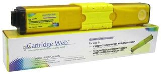 Toner Cartridge Web Yellow OKI C310 zamiennik 44469704