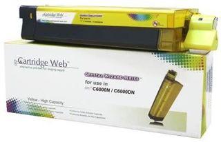 Toner Cartridge Web Yellow OKI C8600/C8800 zamiennik 43487709