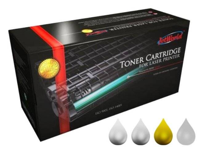 Toner JetWorld JW-H272AYR zamiennik 650A CE272A do HP Color LaserJet 15k Yellow