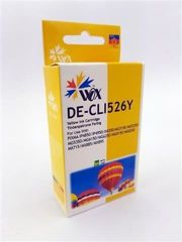 Tusz Wox Yellow Canon CLI 526Y zamiennik CLI526Y