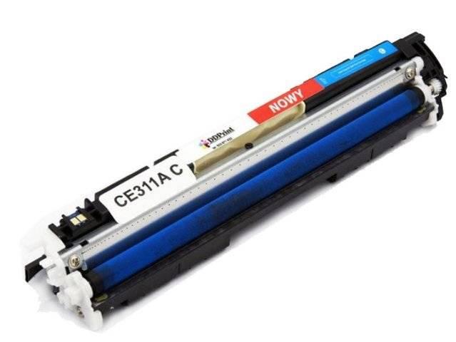 Zgodny z CE311A toner Niebieski do HP LaserJet CP1025 CP1025 M175 M175 M275 / Nowy 1200 stron DD-Print CE311ADNC