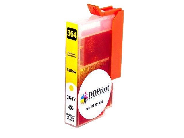 Zgodny z HP 364XL tusz do HP Photosmart 5524 5520 5510 5514 5515 6510 7510 Yellow 14,5ml DD-Print DD-IH364XLYN